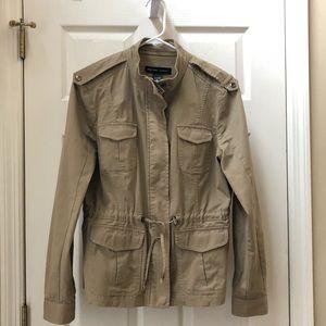 New York & Co Khaki Jacket Size M